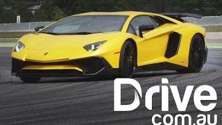 Lamborgini Aventador Super Veloce LP750-4 Review | Drive.com.au
