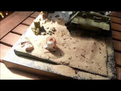 How To Add Desert Sand Texture To Your Diorama