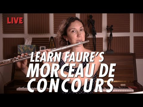 Just Practicing with Amelie | MORCEAU DE CONCOURS by Gabriel Faure