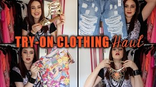 Try-On Clothing Haul: Material Girl, Shop Hopes, Plato