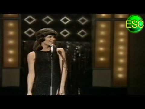 ESC 1972 01  Germany  Mary Roos  Nur Die Liebe Läßt Uns Leben