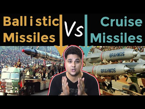 Difference between Cruise Missiles And Ballastic Missiles Ballastic Missiles and Cruise Missiles
