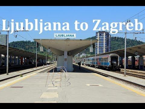 Ljubljana To Zagreb By Train Youtube