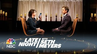 Rachel Dratch and Seth Clear the Air - Late Night with Seth Meyers