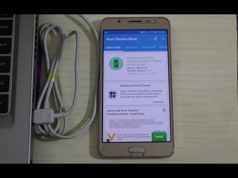 How To Root Samsung Galaxy J5 (2016) Nougat 7.1.1 Easily!