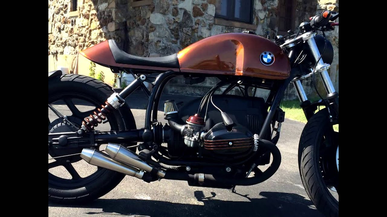 BMW R100 Cafe Racer build (R100RT) R80
