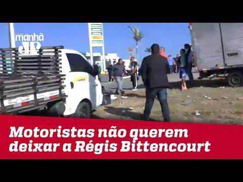 Motoristas Dizem Por Que Não Querem Deixar A Régis Bittencourt   Jornal Da Manhã