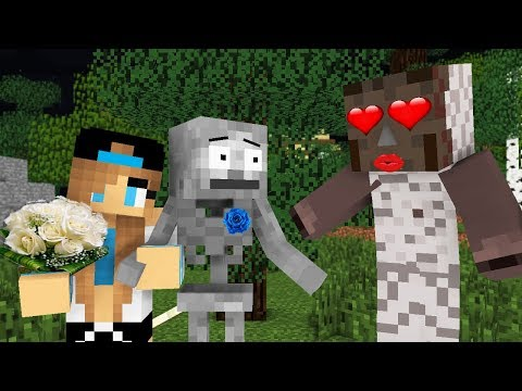 Monster School : GRANNY LOVE CHALLENGE -Minecraft Animation