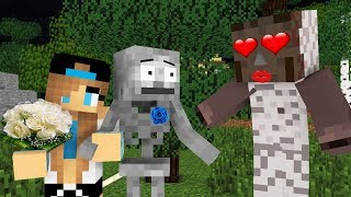 Monster School GRANNY LOVE CHALLENGE Minecraft Animation