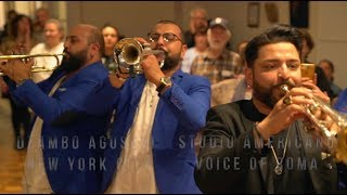 Dzambo Agusevi Orchestra live in New York City 2019