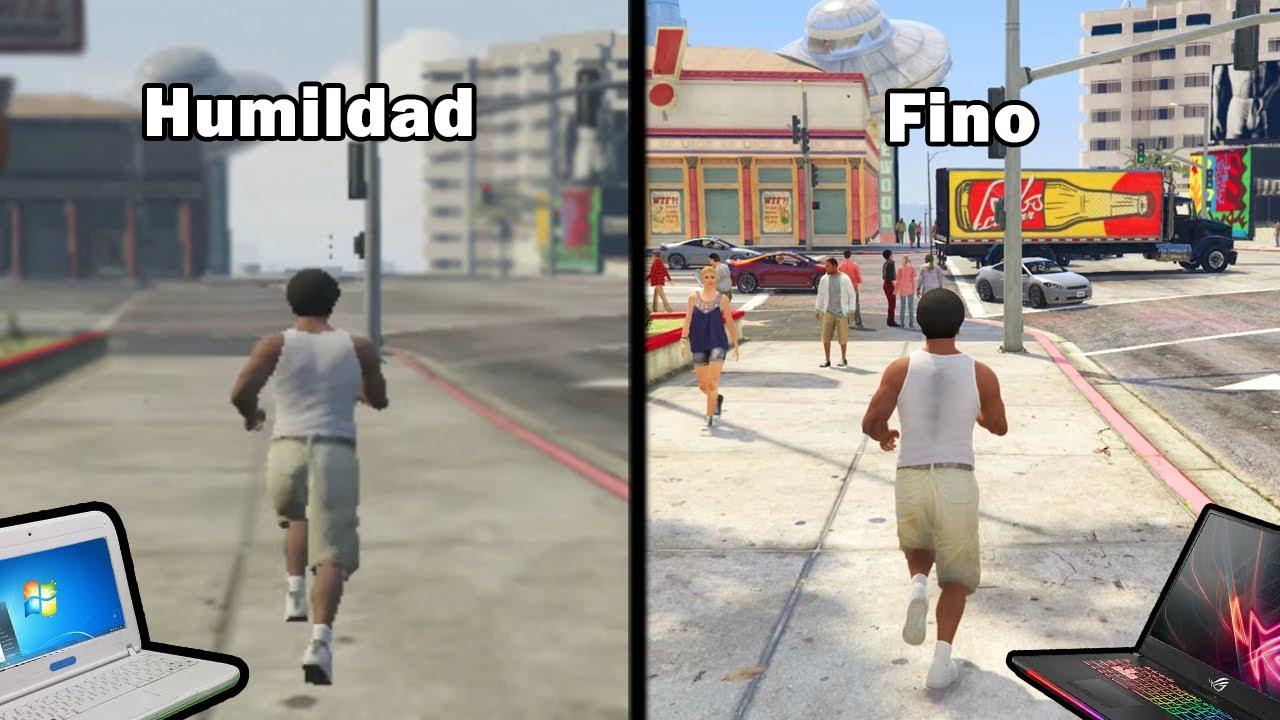 Los gráficos más chafas del GTA 5