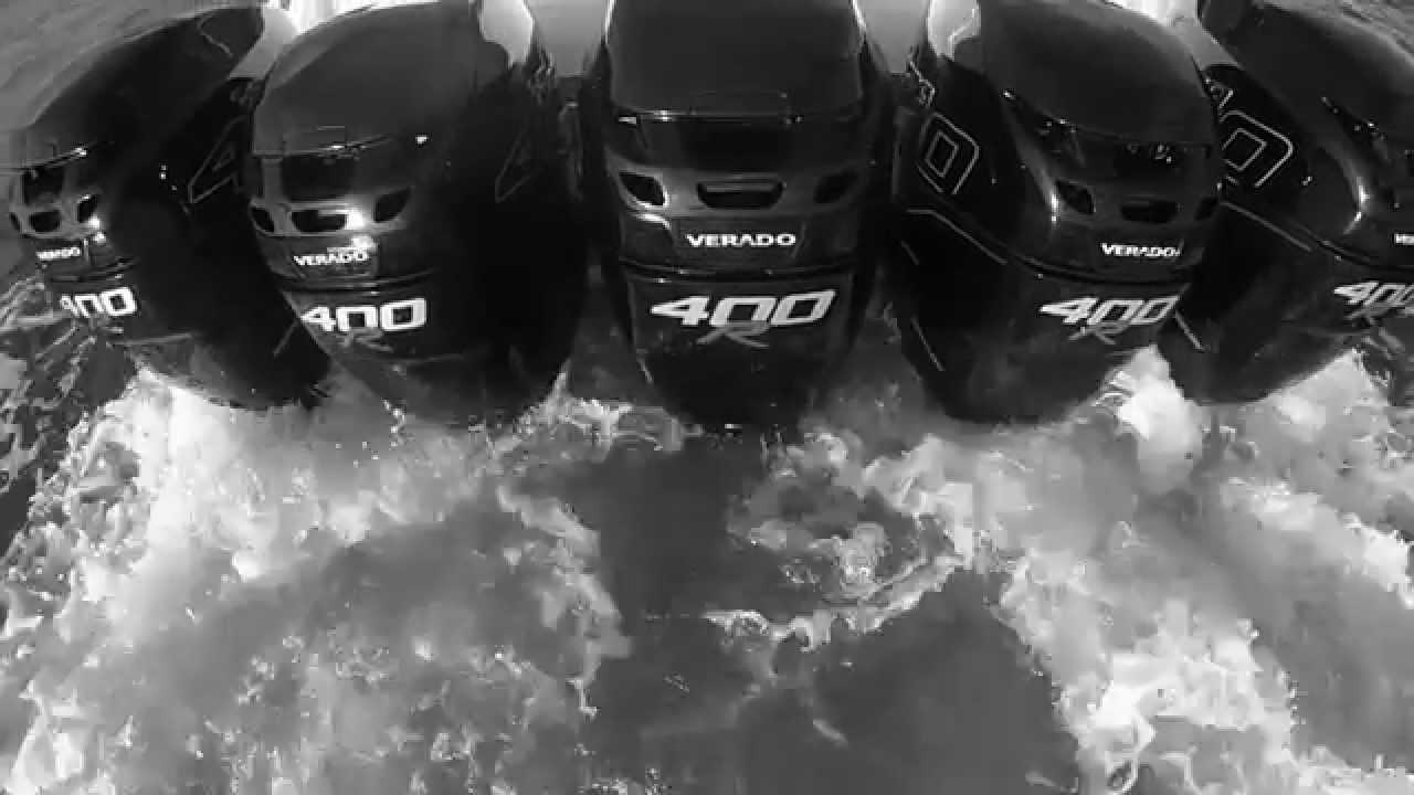 Mercury Racing Verado F400r