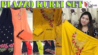 Affordable Kurti Plazzo Dupatta Set ll Online Shop ll 22 Sep 2018
