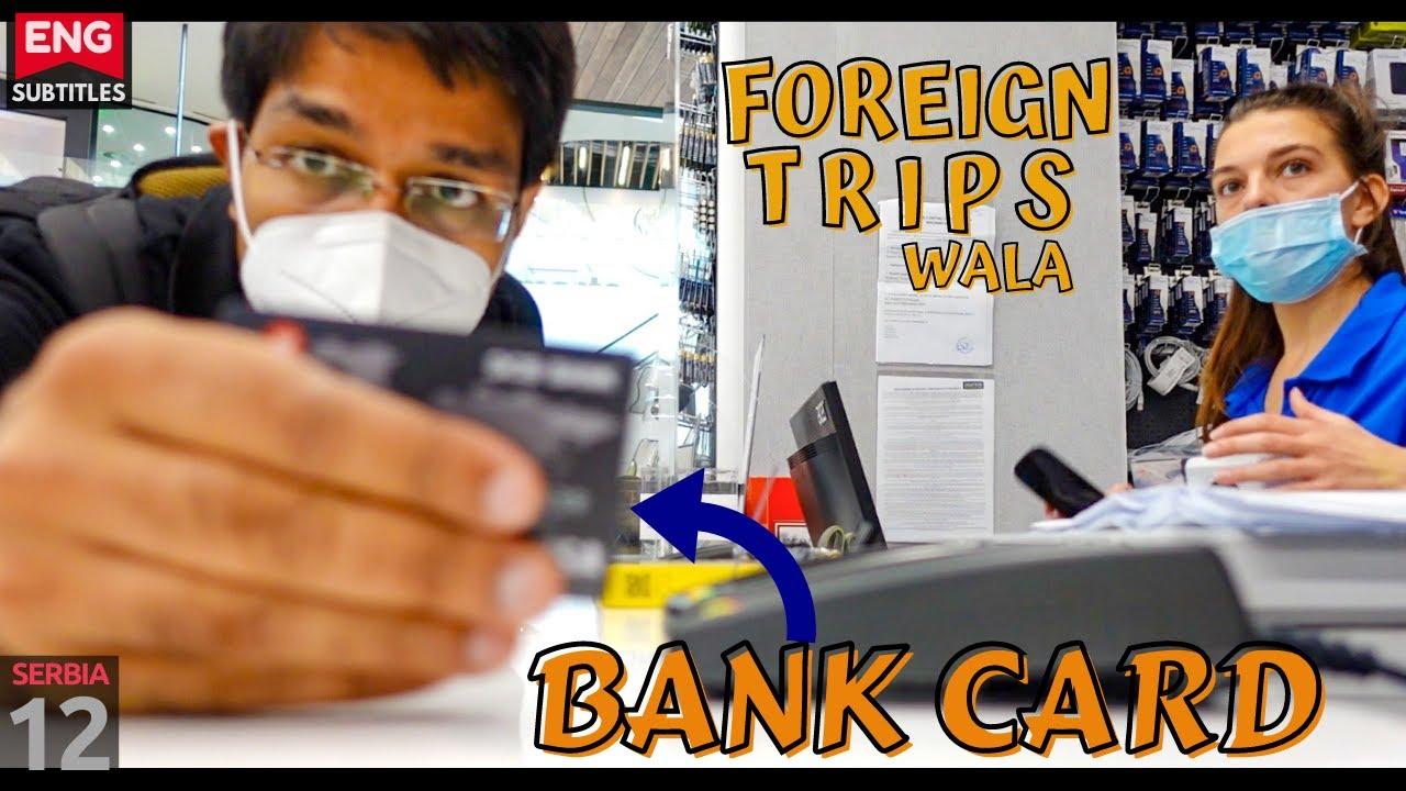 Serbia: Shopping with Indian Card | BAD couchsurfing | Marathi sawal, Bengali jawab