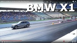 BMW X1 1/4 Mile Acceleration @ Public Race Days 2015