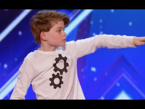 12 YO Boy Tells His Story Through AMAZING Moves  Week 1  Americas Got Talent 2017
