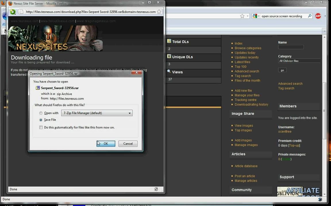 Tell me how to activate the mods for TES: Oblivion using Oblivion Mod Manager