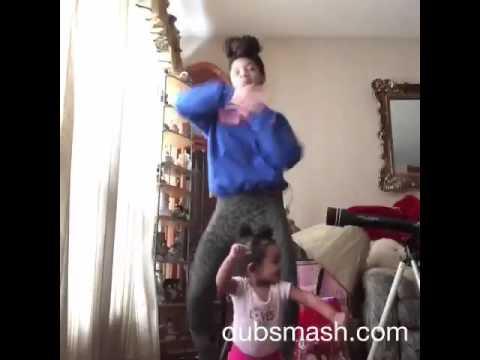 Baby does Whip ... Drop ... Turn around dont stop #dubsmash #jheli #starkeesha #ellentube