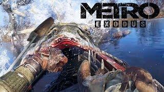 БОЛОТНОЕ БОЖЕСТВО  СОМ в METRO Exodus - Прохождение #2