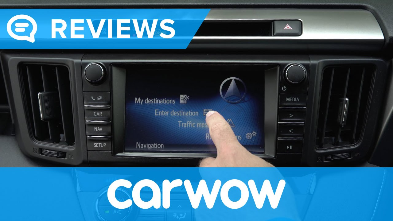 Toyota Rav4 2017 Suv Infotainment And Interior Review Mat Watson Reviews You