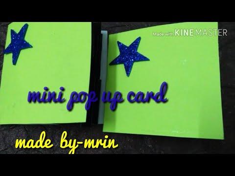 Mini pop up card (mrin art)