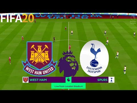 FIFA 20 | West Ham United Vs Tottenham Hotspur - Premier League - Full Match & Gameplay