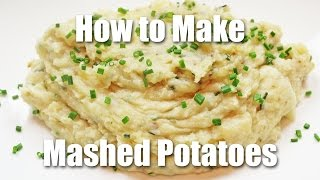 How To Make Garlic Mashed Potatoes - Recipe