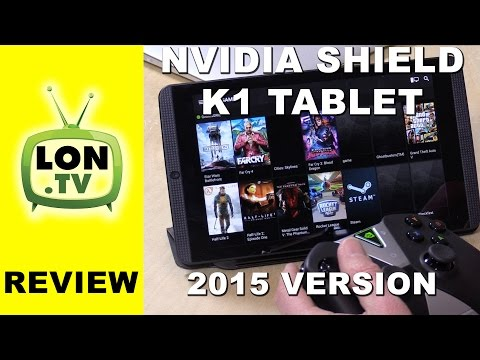 NVIDIA SHIELD Tablet K1 Review - New for 2015 - PC Streaming, Controller, Twitch and more