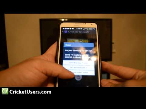 Samsung Galaxy Note 3 IR Blaster Setup - WatchON - TV Remote Control