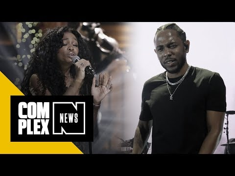 Kendrick Lamar and SZA Team Up for 'Black Panther: The Movie' Single