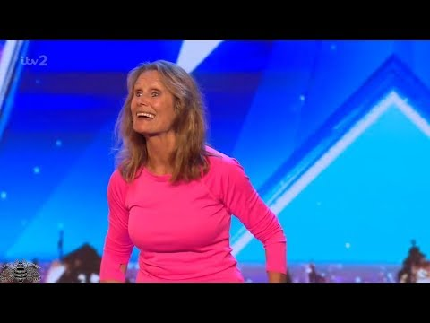 Britain's Got More Talent 2018 70 Year Old Ann Cooper Audition S12E06