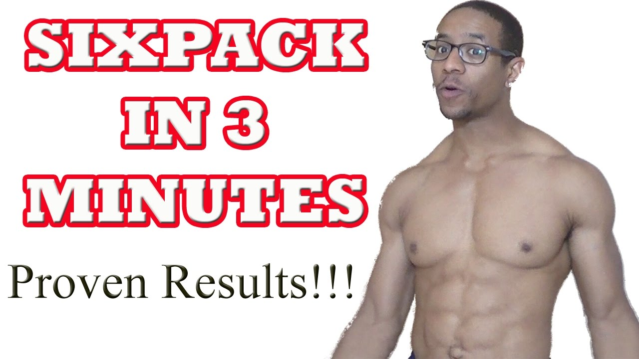 Watch How To Get A Six Pack In 3 Minutes For Kid