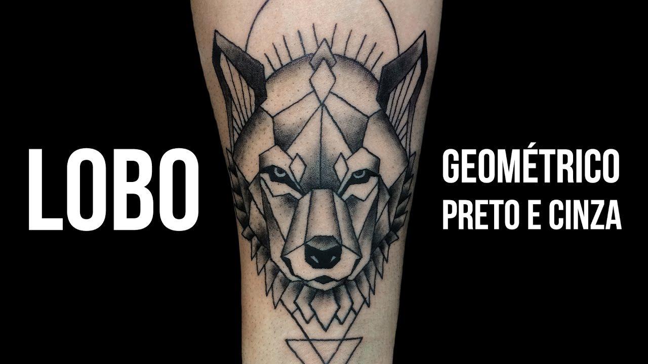 Extremamente LOBO | Wolf - Geométrico | Geometric - Tattoo Time Lapse #24 - YouTube RU35