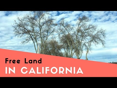 Free Land in California