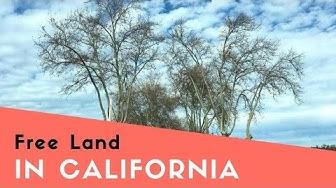 Free Land in California