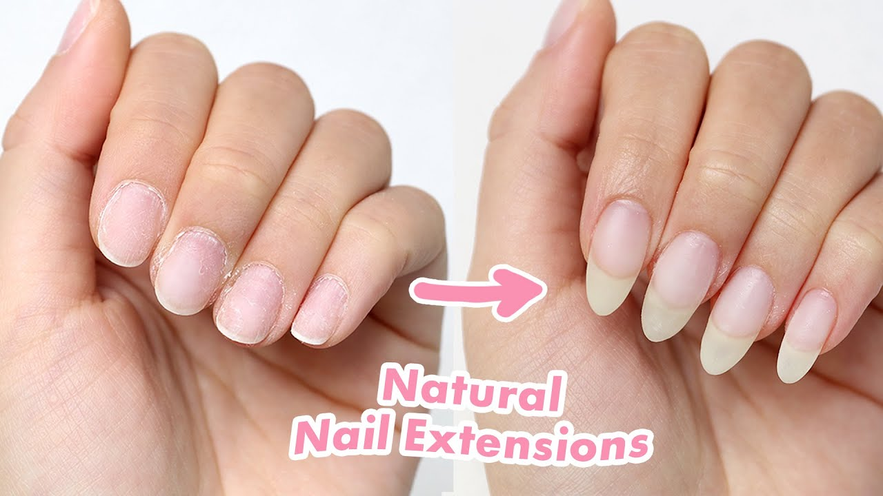 How to Create Natural Looking Nail Extensions