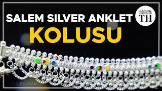 How the Salem silver anklet or kolusu is made