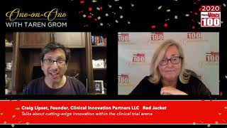 Craig Lipset, Clinical Innovation Partners LLC – 2020 PharmaVOICE 100 Celebration
