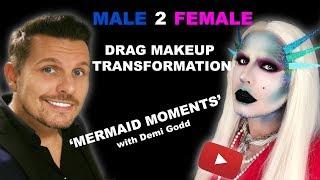 Drag Makeup Tutorial - Transformation