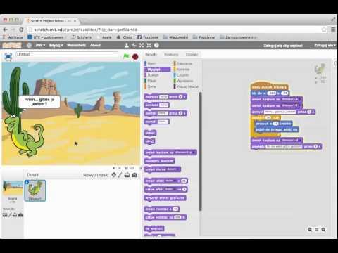 Scratch - podstawy pracy z programem