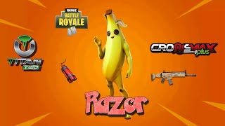 FORTNITE RAZOR 6.1 NICE GAME WITH CUSTOMERS BEST AIM ASSIST / ABUSE CRONUSMAX TITAN TWO PS4 XBOX ONE