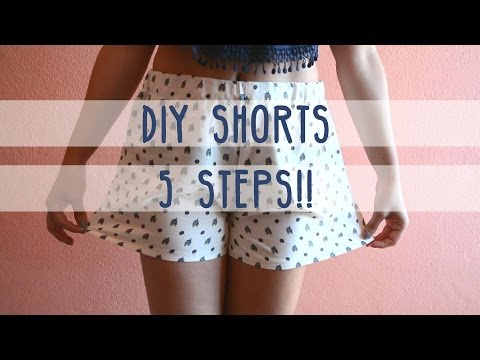 5 Steps DIY Shorts! from YouTube · Duration:  6 minutes 49 seconds