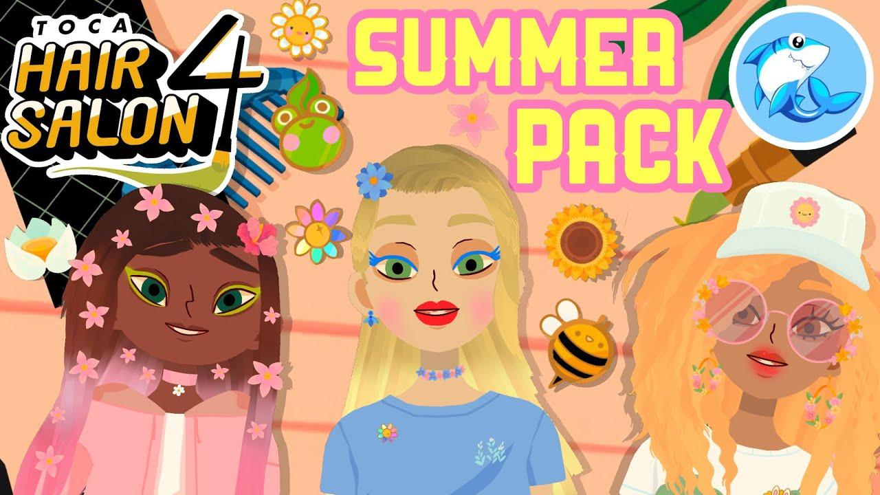 Toca Hair Salon 4 | Summer Pack!? #6