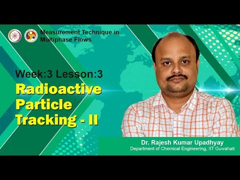 Lecture 9 - Radioactive Particle Tracking-II