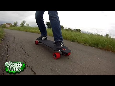 The New Screen Savers 99: Super-Fast Electric Skateboard