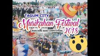 Tagum City Musikahan Festival 2018   Marching Band Competition