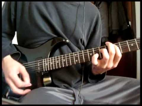Incubus - Rogues (guitar cover)