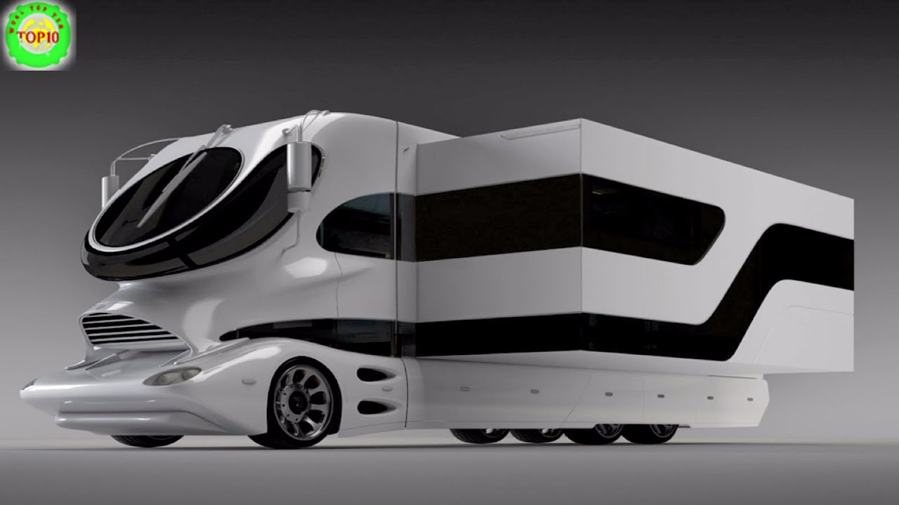 10 Most Expensive Luxury Motorhomes In The World Youtube