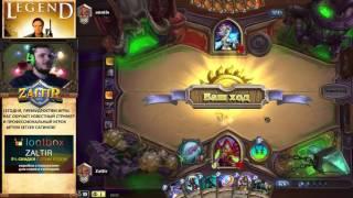 Обучение игре Hearthstone с про-игроком: Setzer