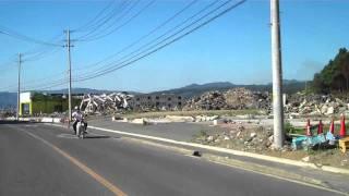 Minamisanriku, 4 months after the tsunami